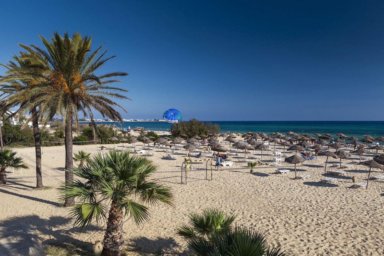 пляж отеля Sentido Phenicia