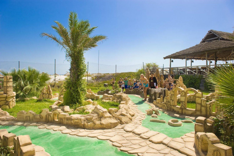 мини-гольф отеля LTI-Mahdia Beach