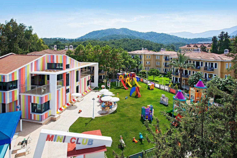 детская зона отеля Club Hotel Phaselis Rose