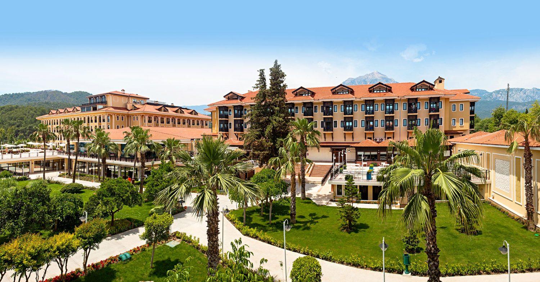 территория отеля Club Hotel Phaselis Rose