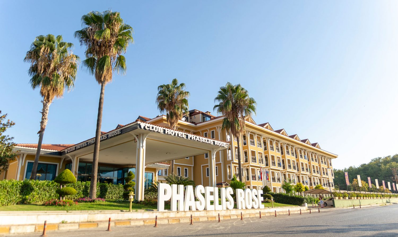 общий вид отеля Club Hotel Phaselis Rose