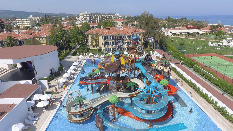 аквапарк отеля Club Hotel Phaselis Rose