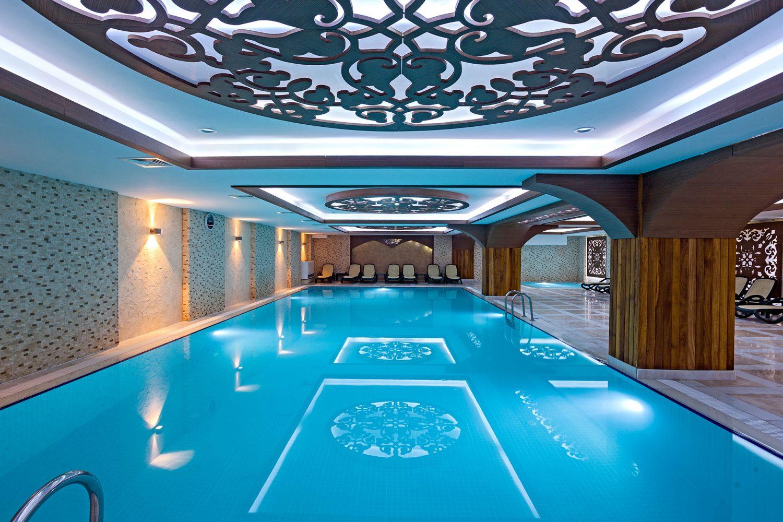 крытый бассейн отеля Club Hotel Phaselis Rose