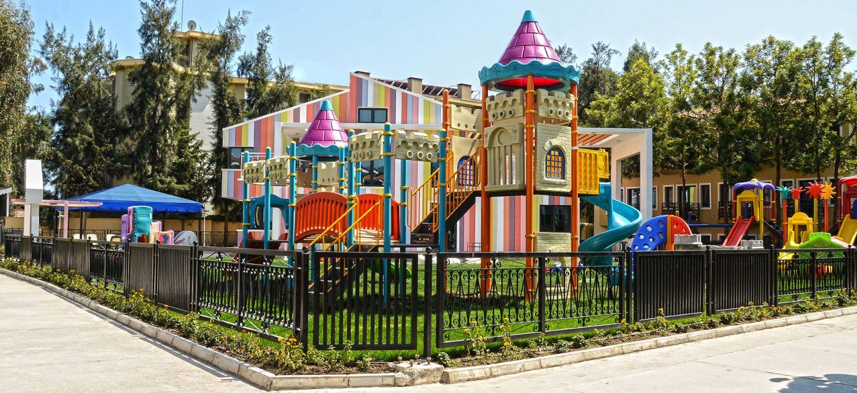детская площадка отеля Club Hotel Phaselis Rose