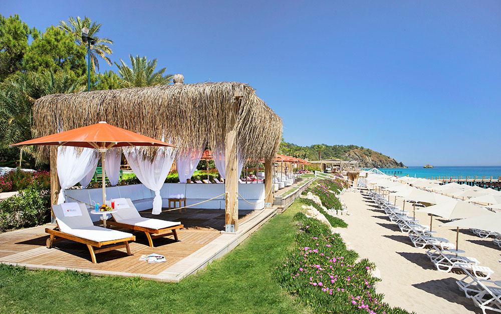пляж отеля Marti Myra
