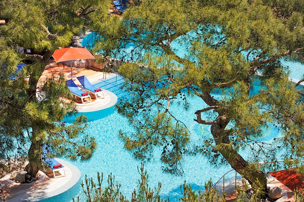 бассейн отеля Marti Myra