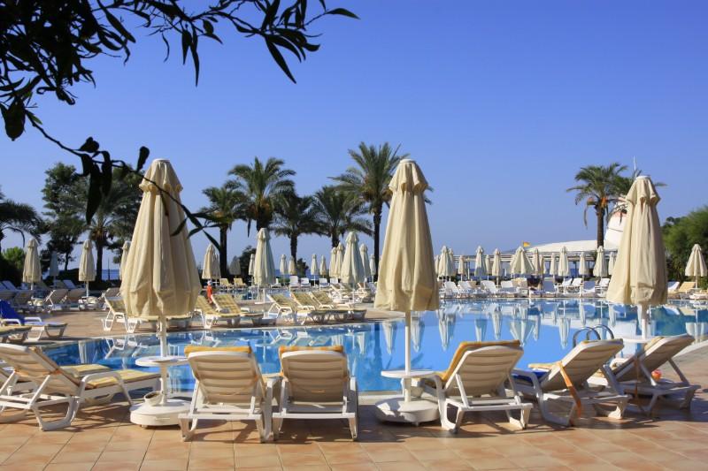 территория отеля TT Hotels Pegasos Club