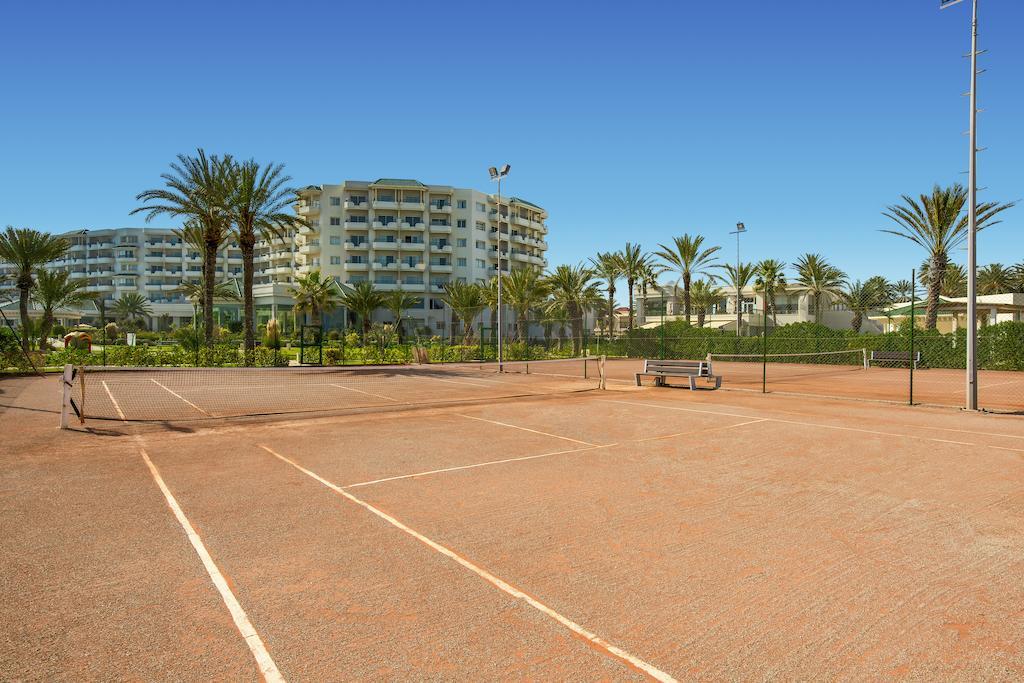 теннисный корт отеля Iberostar Selection Royal El Mansour & Thalasso