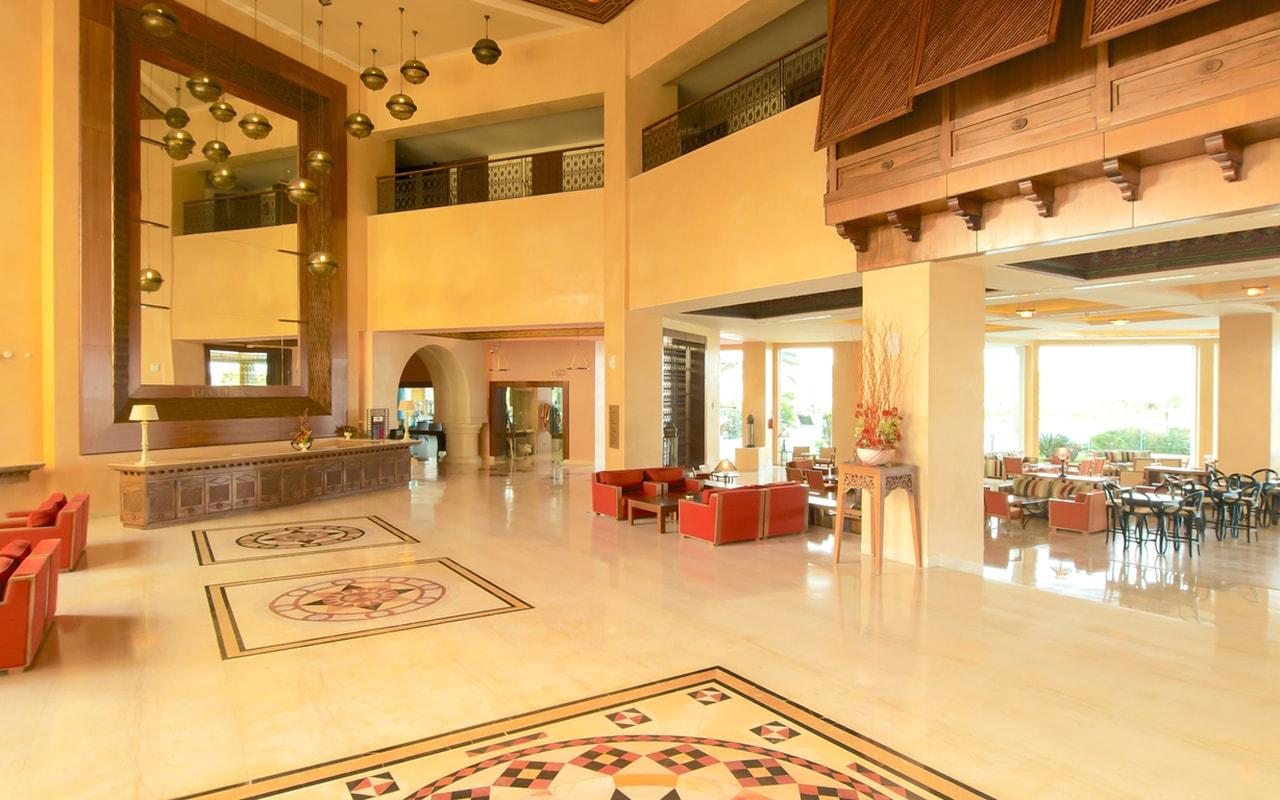 ресепшн отеля Iberostar Selection Royal El Mansour & Thalasso