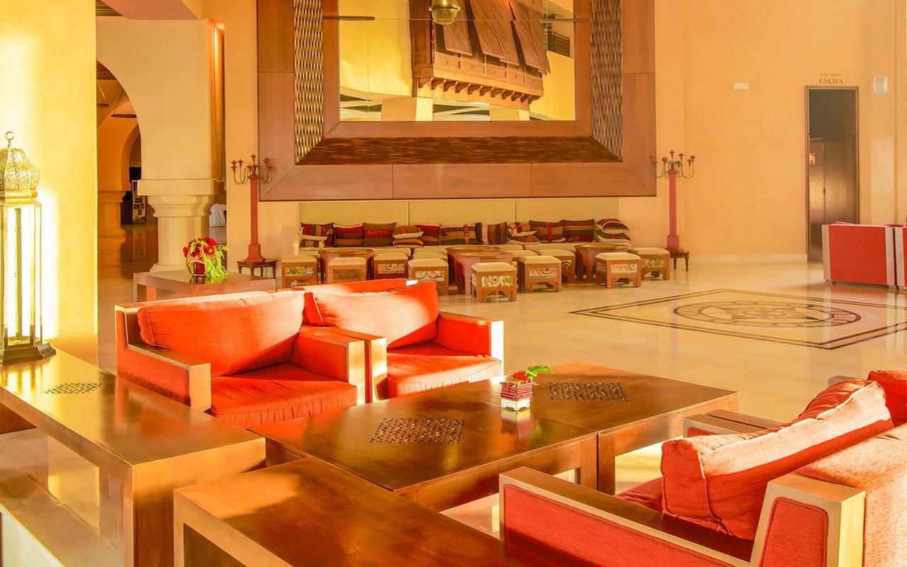 лобби отеля Iberostar Selection Royal El Mansour & Thalasso