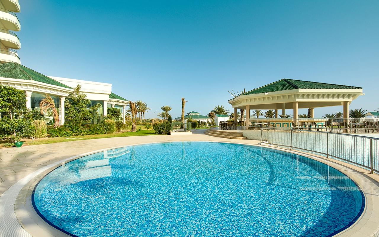бассейн отеля Iberostar Selection Royal El Mansour & Thalasso