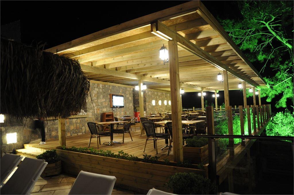 ресторан отеля Manas Park Oludeniz