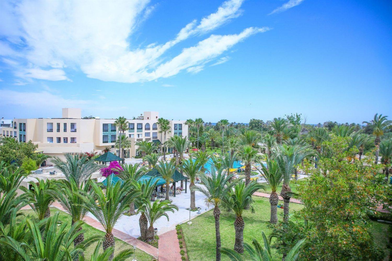 территория отеля Magic Nerolia & Spa Monastir