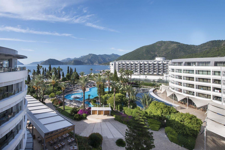 территория отеля TUI Hotels Grand Azur