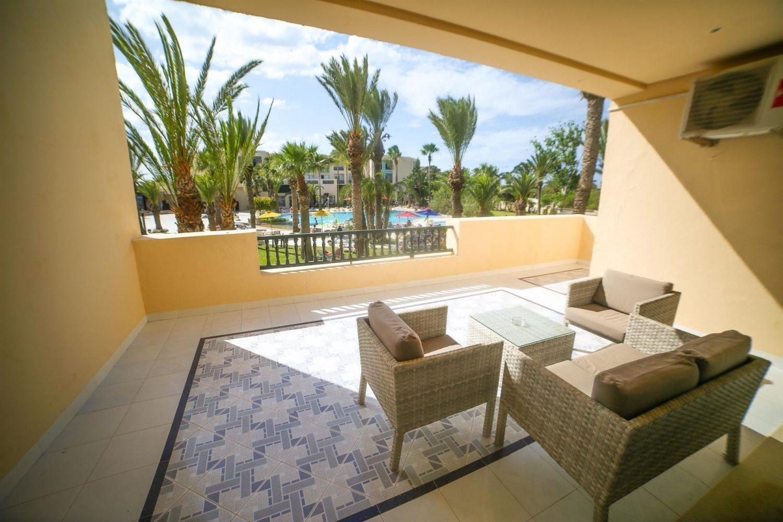 балкон в номере отеля Magic Nerolia & Spa Monastir