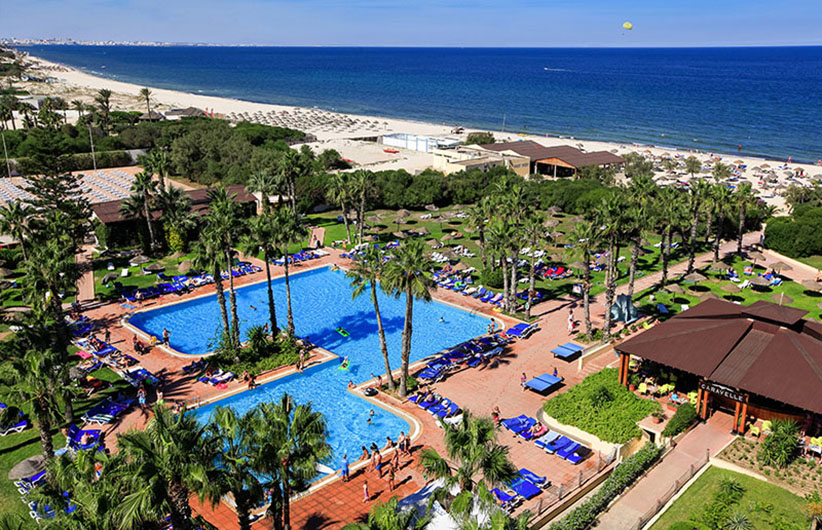 бассейн отеля Sahara Beach Aquapark Resort