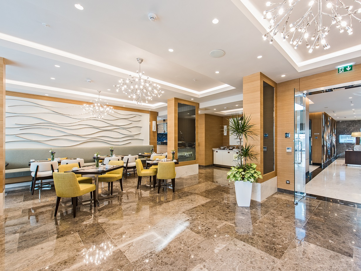 ресторан отеля Elite World Marmaris Hotel