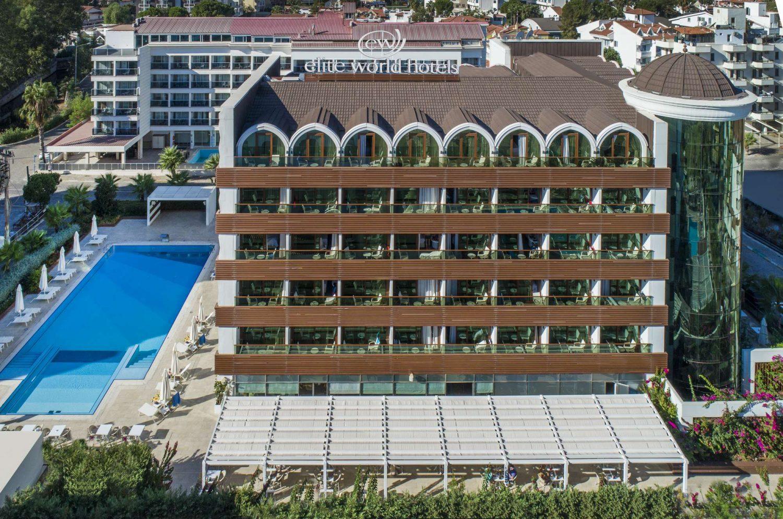 общий вид отеля Elite World Marmaris Hotel
