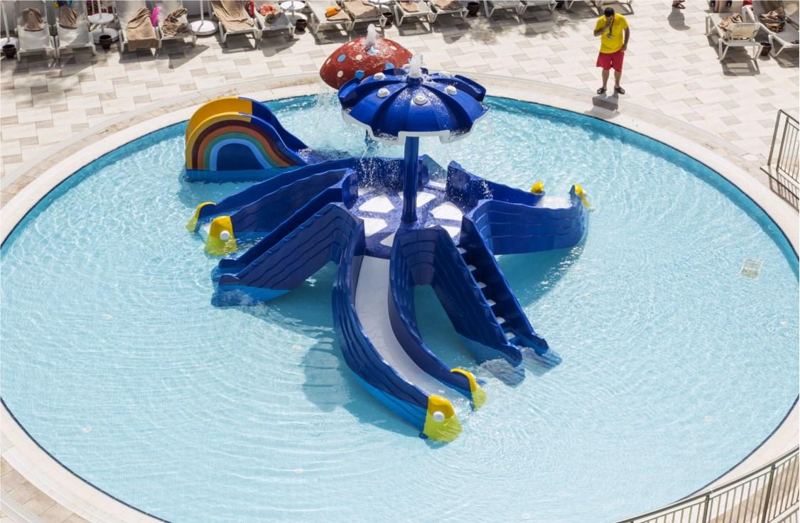 детский бассейн отеля Voyage Torba