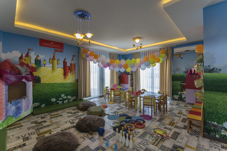 детский клуб отеля Voyage Torba