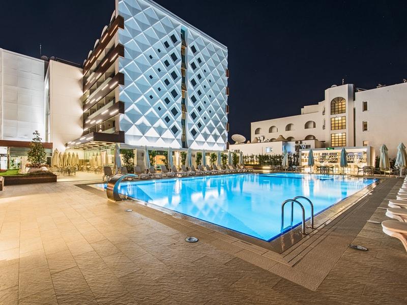 территория отеля Elite World Marmaris Hotel