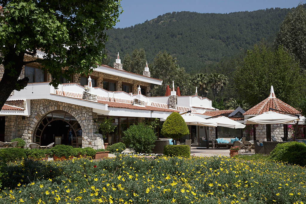 общий вид отеля Marti Resort