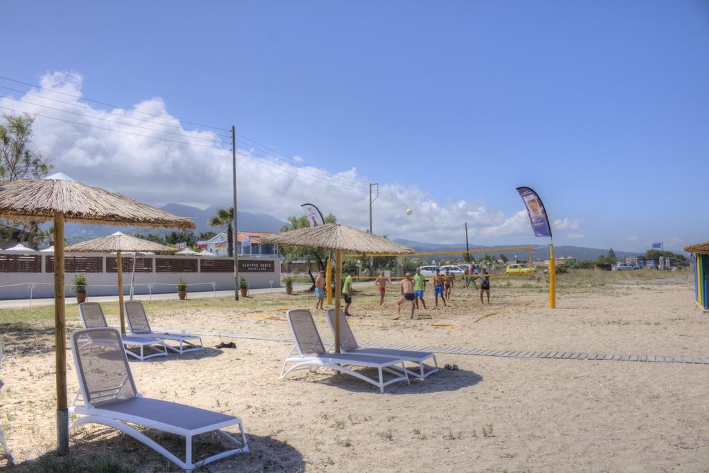 пляж отеля Almyros Beach Resort & Spa