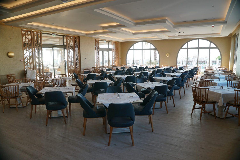 ресторан отеля Almyros Beach Resort & Spa