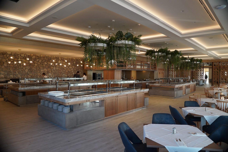 главный ресторан отеля Almyros Beach Resort & Spa