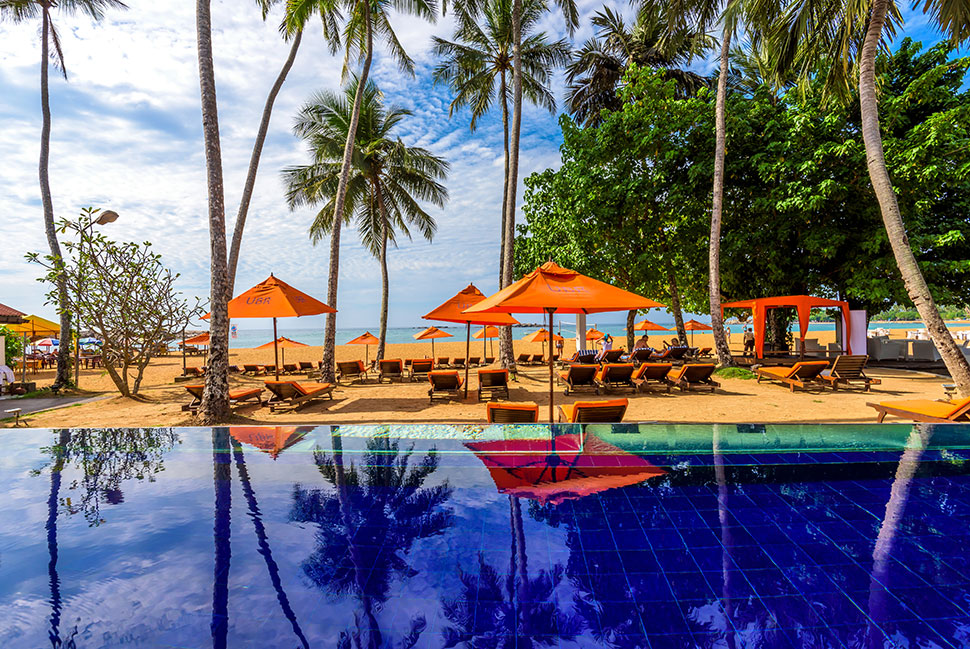 бассейн отеля Calamander Unawatuna Beach