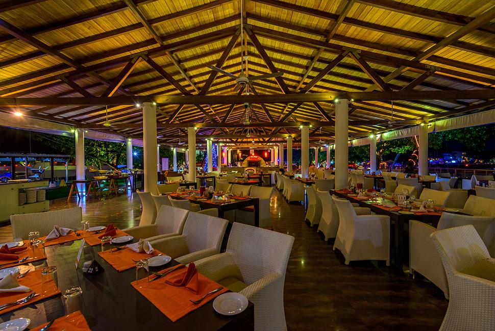 ресторан отеля Calamander Unawatuna Beach
