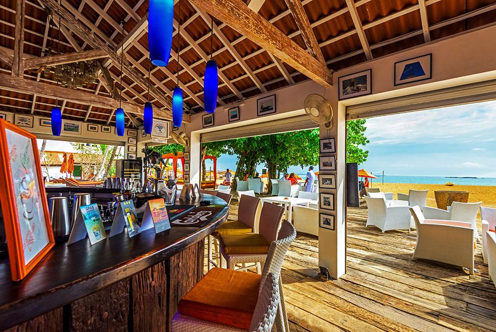 бар отеля Calamander Unawatuna Beach