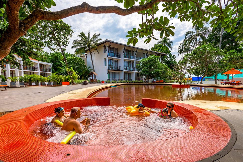 джакузи отеля Calamander Unawatuna Beach