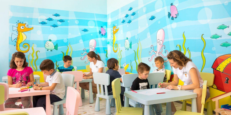 детский клуб отеля Remisens Hotel Albatros