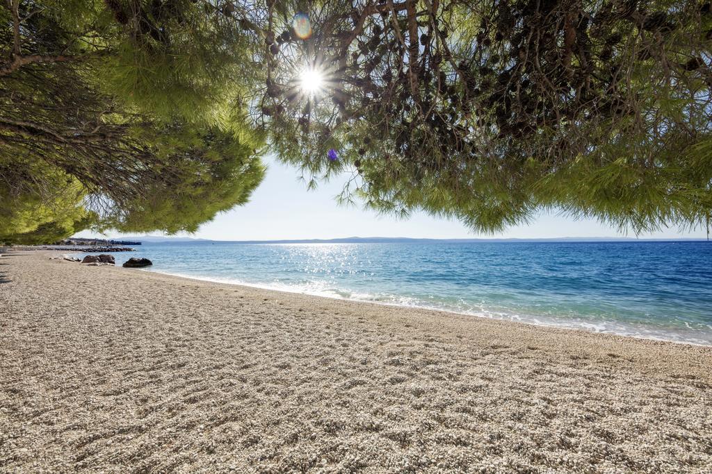 пляж отеля Bluesun Afrodita Tourist Resort