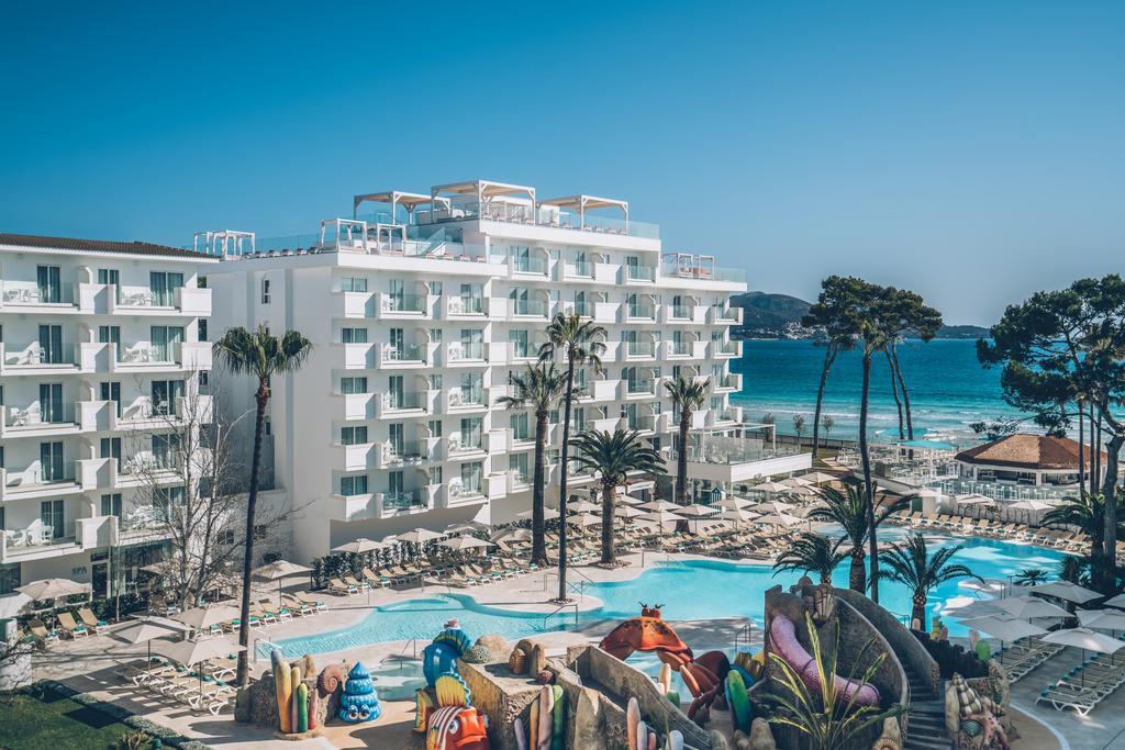 общий вид на территорию отеля Iberostar Alcudia Park
