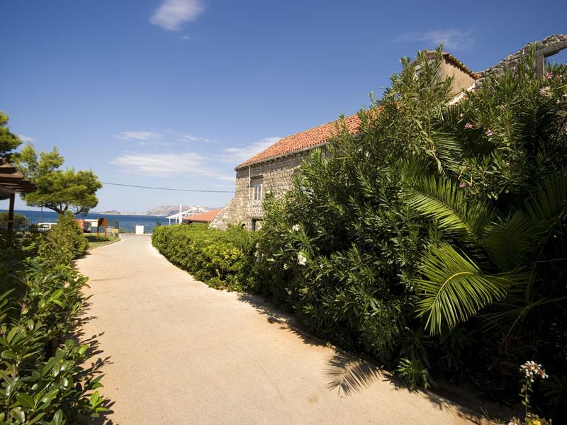 территория отеля Remisens Hotel Albatros