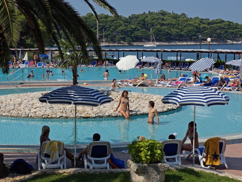 бассейн отеля Remisens Hotel Albatros
