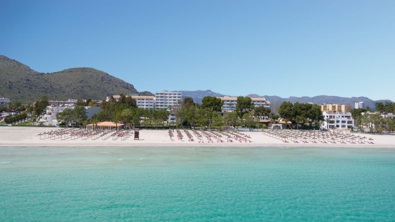 пляж отеля Iberostar Ciudad Blanca