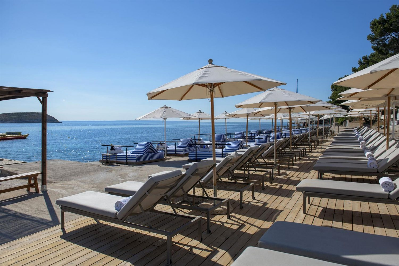 зона отдыха отеля Melia Calvia Beach