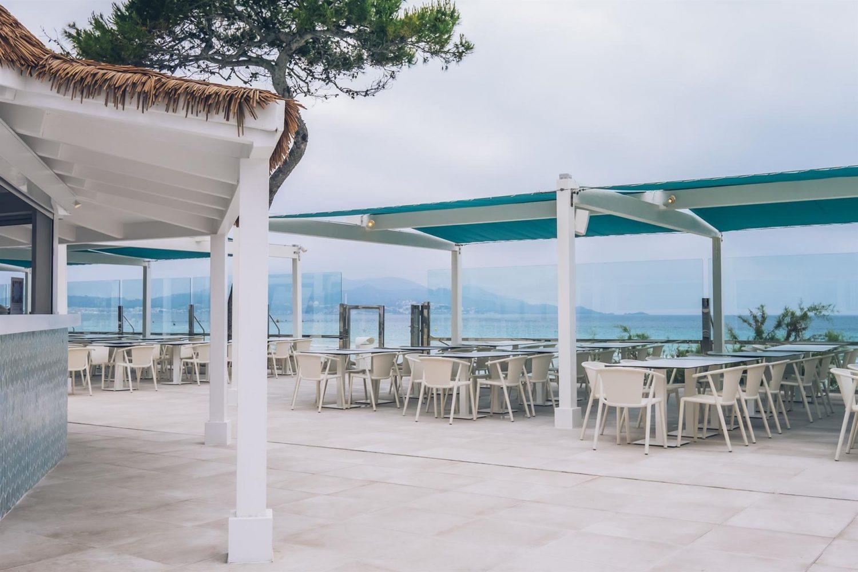 терраса отеля Iberostar Alcudia Park