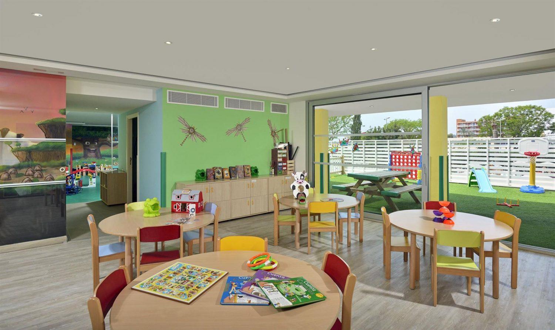 детский клуб отеля Sol Barbados