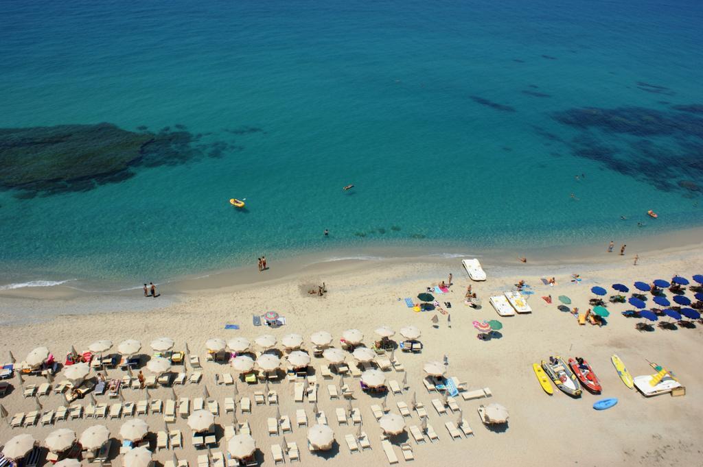 пляж отеля Hotel Residence Solemare
