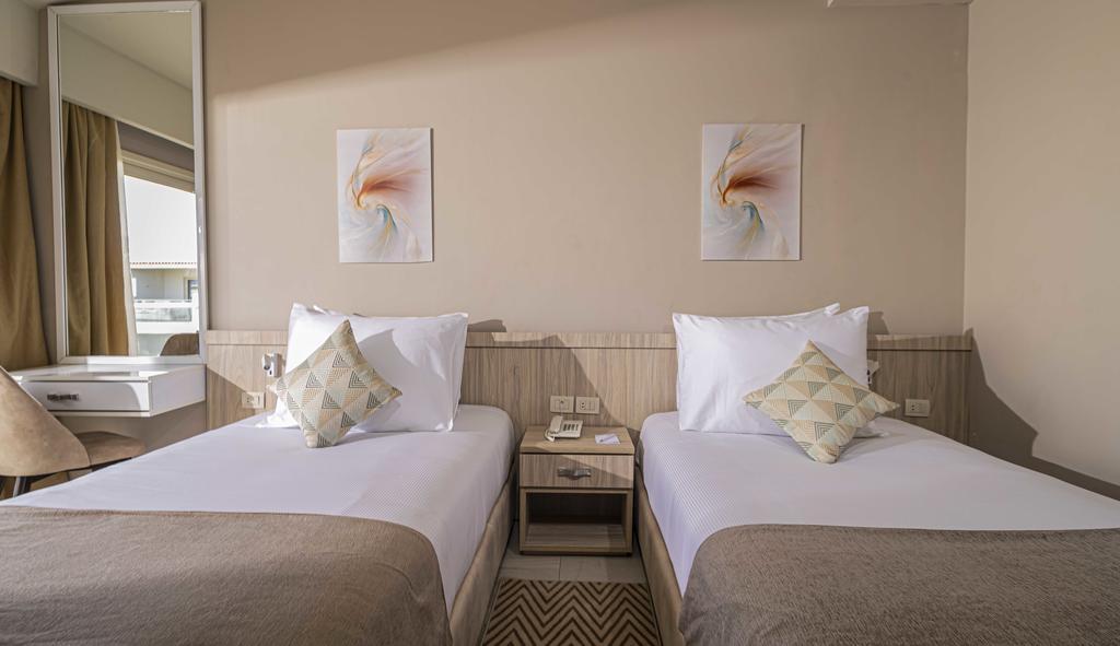 номер отеля Amarina Abu Soma Resort & Aquapark