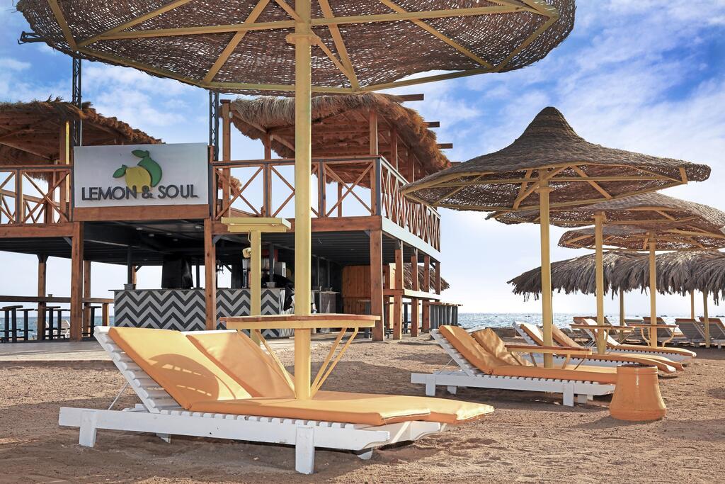 пляж отеля Lemon & Soul Makadi Bay