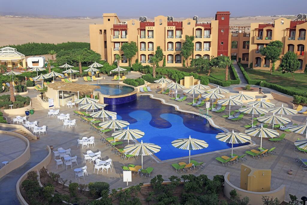 территория отеля Lemon & Soul Makadi Bay