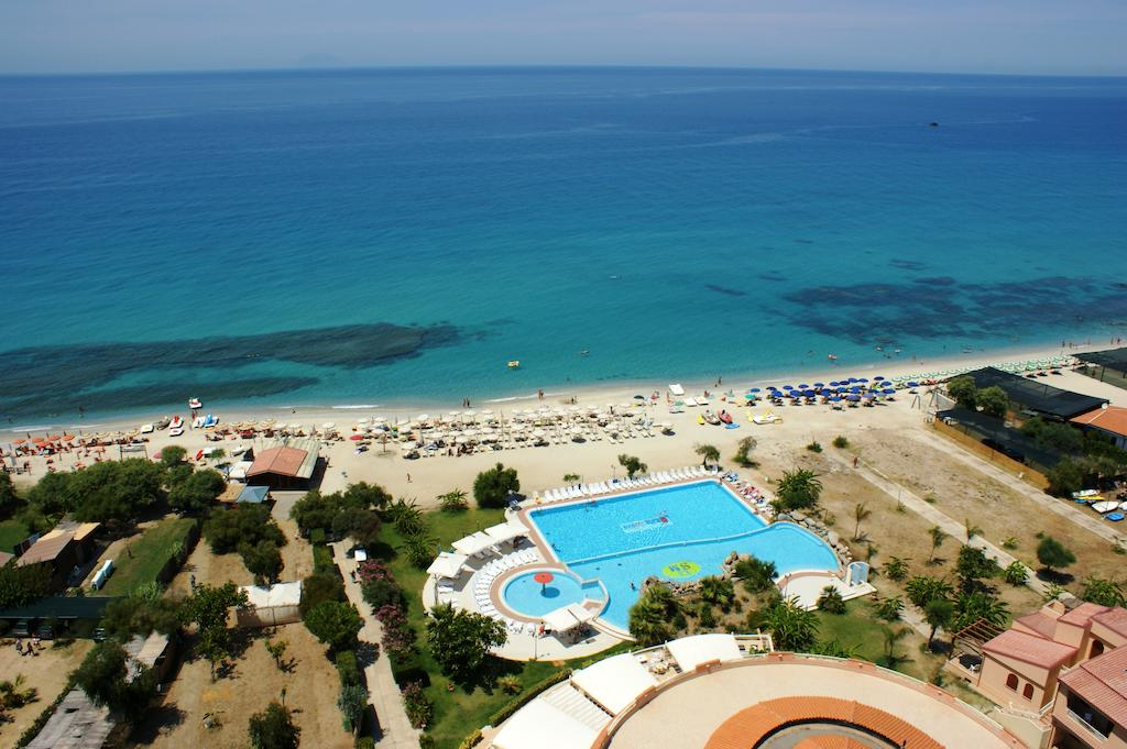 общий вид на территорию отеля Hotel Residence Solemare