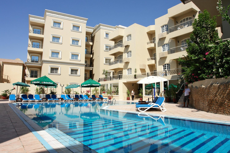 бассейн отеля Elysees Hotel Hurghada