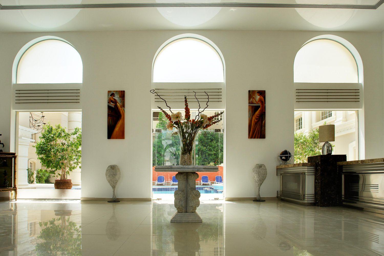 холл отеля Elysees Hotel Hurghada