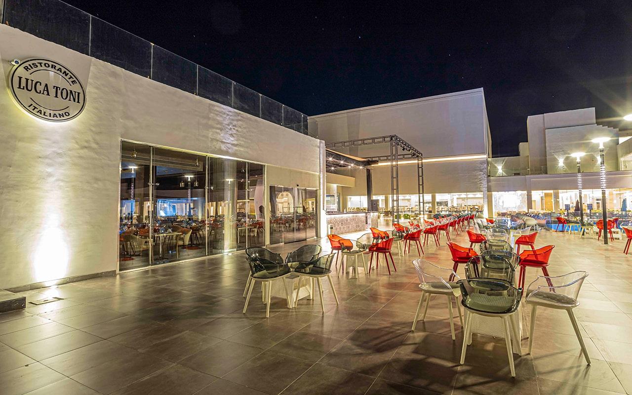 ресторан отеля Amarina Abu Soma Resort & Aquapark